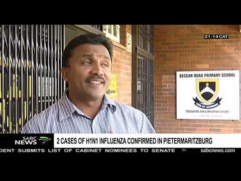 Two cases of H1N1 influenza confirmed in Pietermaritzburg