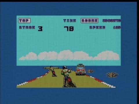ENDURO RACER (ATARI ST - FULL GAME)