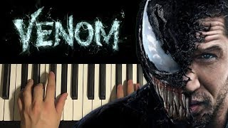 Download lagu Venom - Main Theme (Piano Tutorial Lesson)