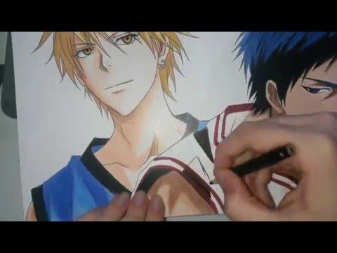 Speed Drawing - Kise and Aomine (Kuroko no Basket)