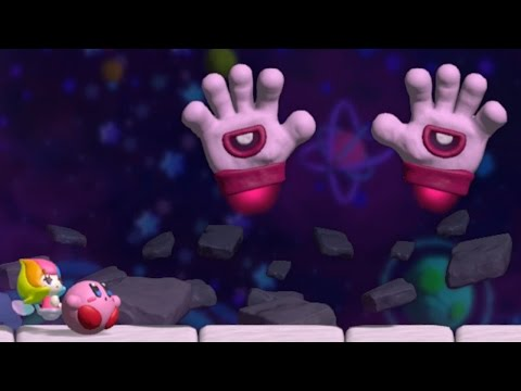 Kirby and the Rainbow Curse - All Bosses (No Damage)