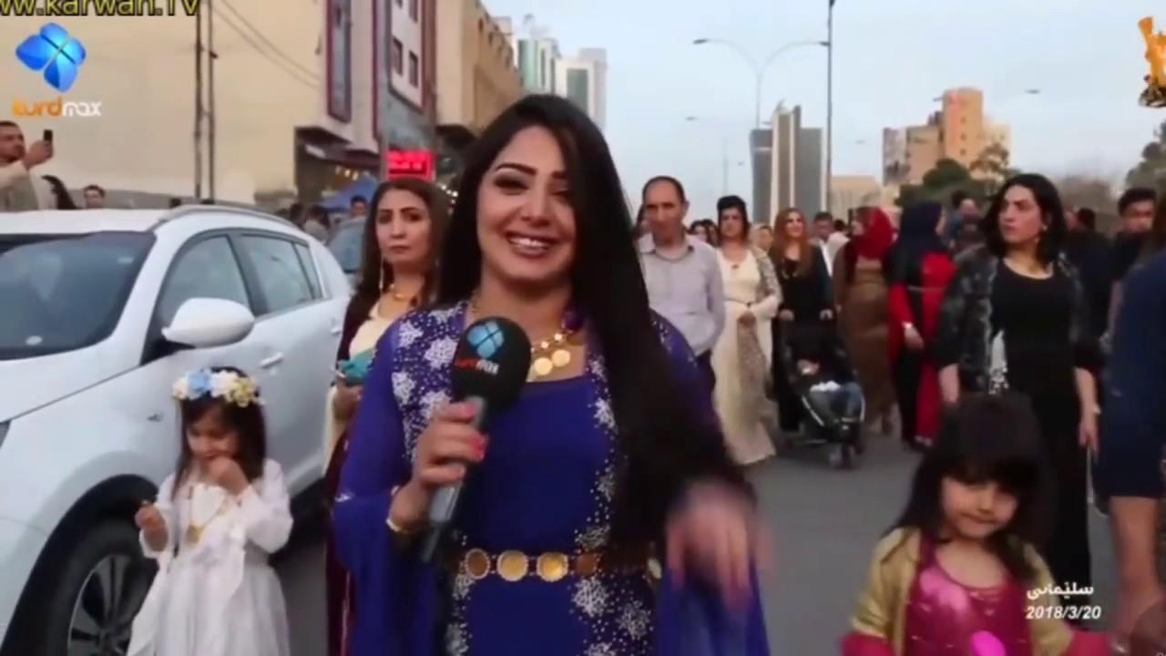Newroz 2018 Slemani - KURDMAX TV lagal Sozan