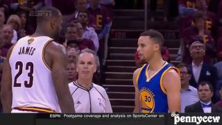 LeBron James & Kyrie Irving OWNS Stephen Curry in NBA Finals (2016) *Full Compilation