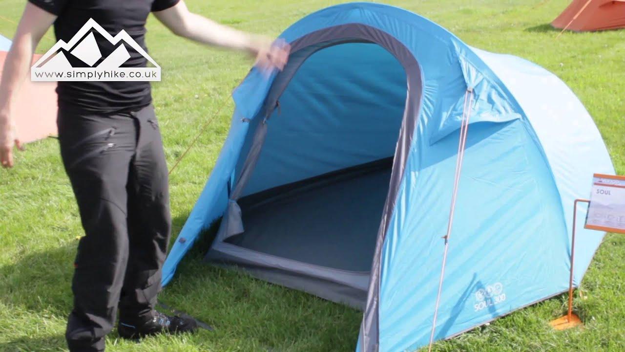 & Vango Soul 300 Tent - www.simplyhike.co.uk - YouTube