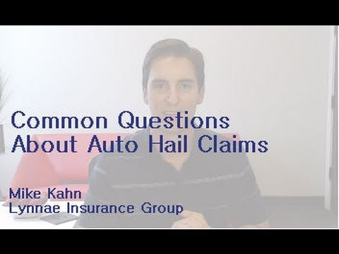 Oklahoma City hail storm - auto insurance claim