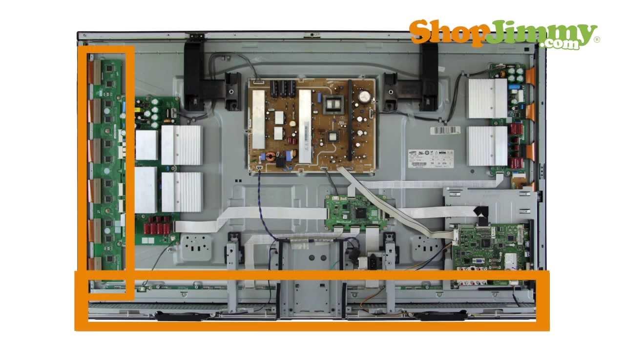 Samsung Plasma TV Repair Tutorial  Identifying Samsung Plasma TV Parts  How to Fix Plasma TVs