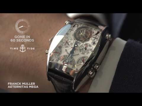 GONE IN 60 SECONDS - Franck Muller Aeternitas Mega