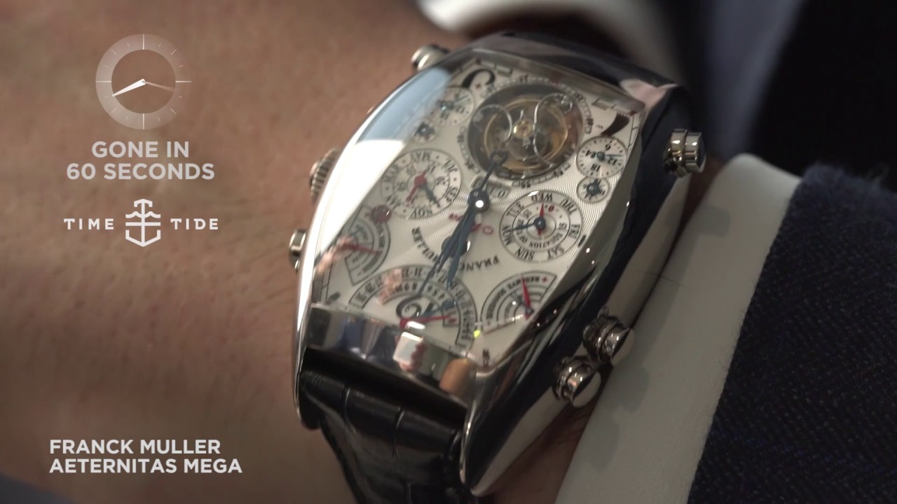 968de5d0cbe GONE IN 60 SECONDS - Franck Muller Aeternitas Mega - YouTube