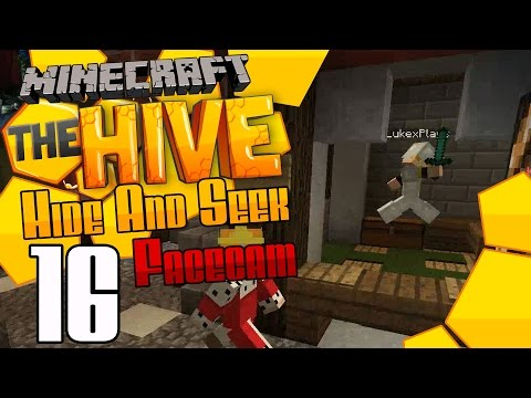 Hide and Seek Facecam :: Minecraft The Hive :: Ep16