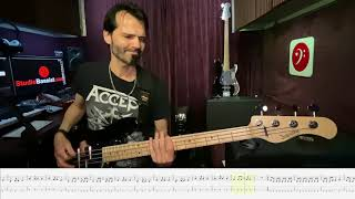 Accept - 10 Not My Problem - Bass Play Along Video by Martin Motnik