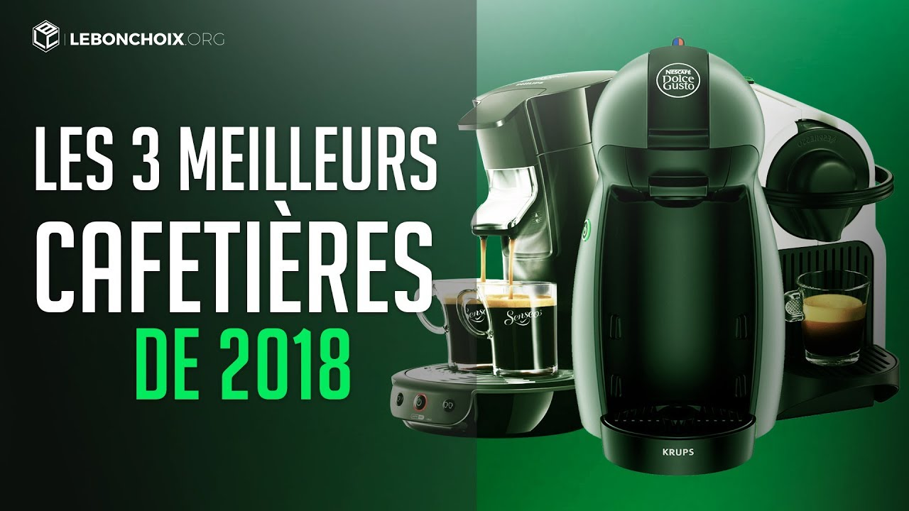 TOP 3 : MEILLEURE MACHINE A CAFE 2018 ( COMPARATIF & TEST ) - YouTube