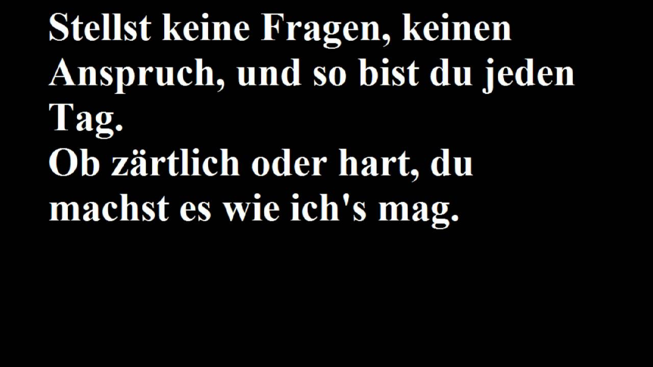 Jan Hegenberg- Hallo Hand (Lyrics)