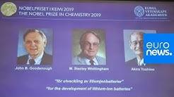 PRIX NOBEL DE CHIMIE:  Décerné aux inventeurs de la batterie lithium-ion