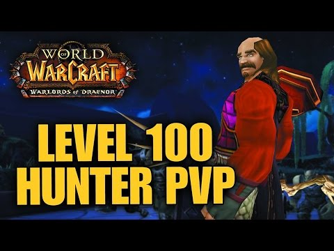 Warlords of Draenor (Beta): Level 100 MM Hunter PvP - First Look Gameplay