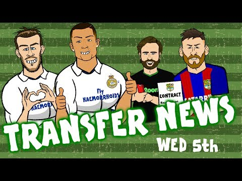 Messi Contract! Ronaldo Stays! Bale Stays! Giroud £20m? TRANSFER NEWS #12 July 5th