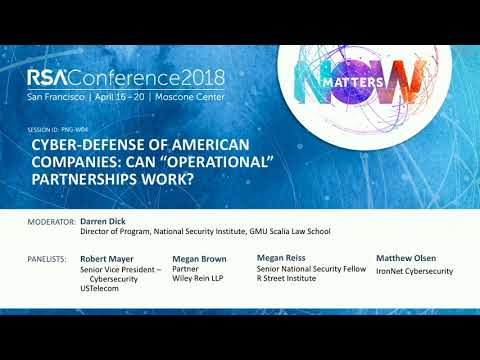 "Cyber-Defense of American Companies: Can ""Operational"" Partnerships Work?"