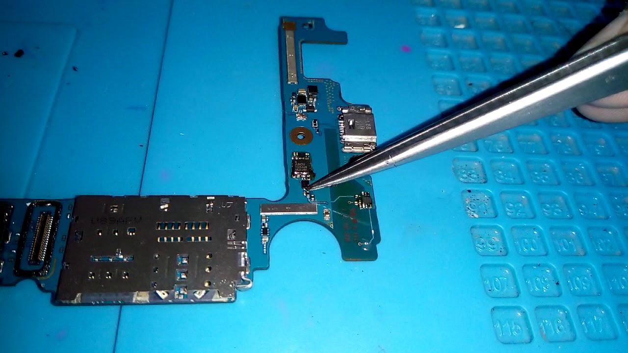 Samsung j8 j810 Aparelho não da imagem após apagar a tela.RESOLVIDO REPARO  DE PLACA.(MOLHOU) - YouTube