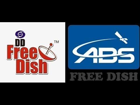 Abs Free Dish aur dd free dish ek hi satellite par Freetv no