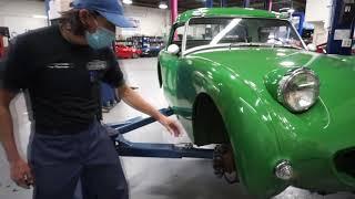 1960 Austin Healey Bugeye Sprite Hood Conversion