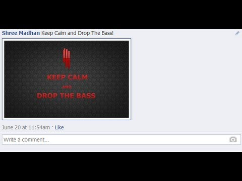 How To Upload Photos on Facebook Comments