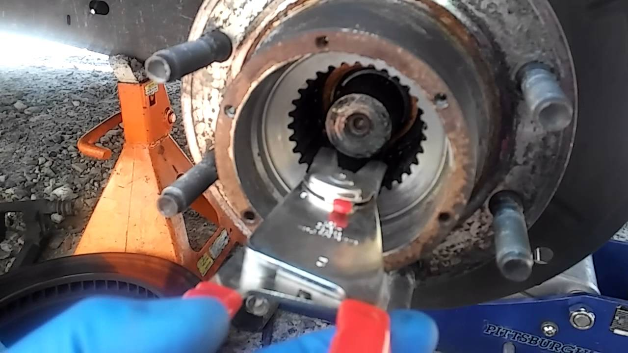Wheel And Axle Diagram Honda Ruckus Wiring 2008 F250 6.4td Super Duty Hub Bearing 2 Of 5 - Youtube