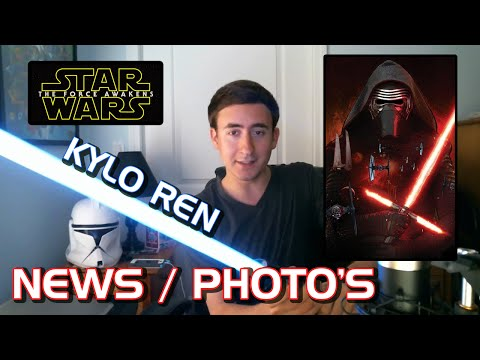 Star Wars Episode 7, VII The Force Awakens KYLO REN NEWS, Vanity Fair NEW CAST PHOTO'S REVEALED
