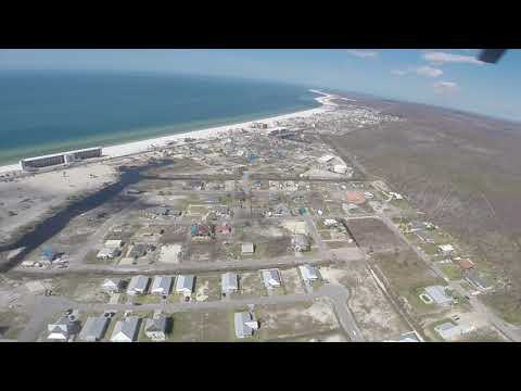 An aerial look at Mexico Beach six months after Hurricane Michael