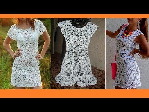 Вязание крючком летние платья и сарафаны для девушек видео
