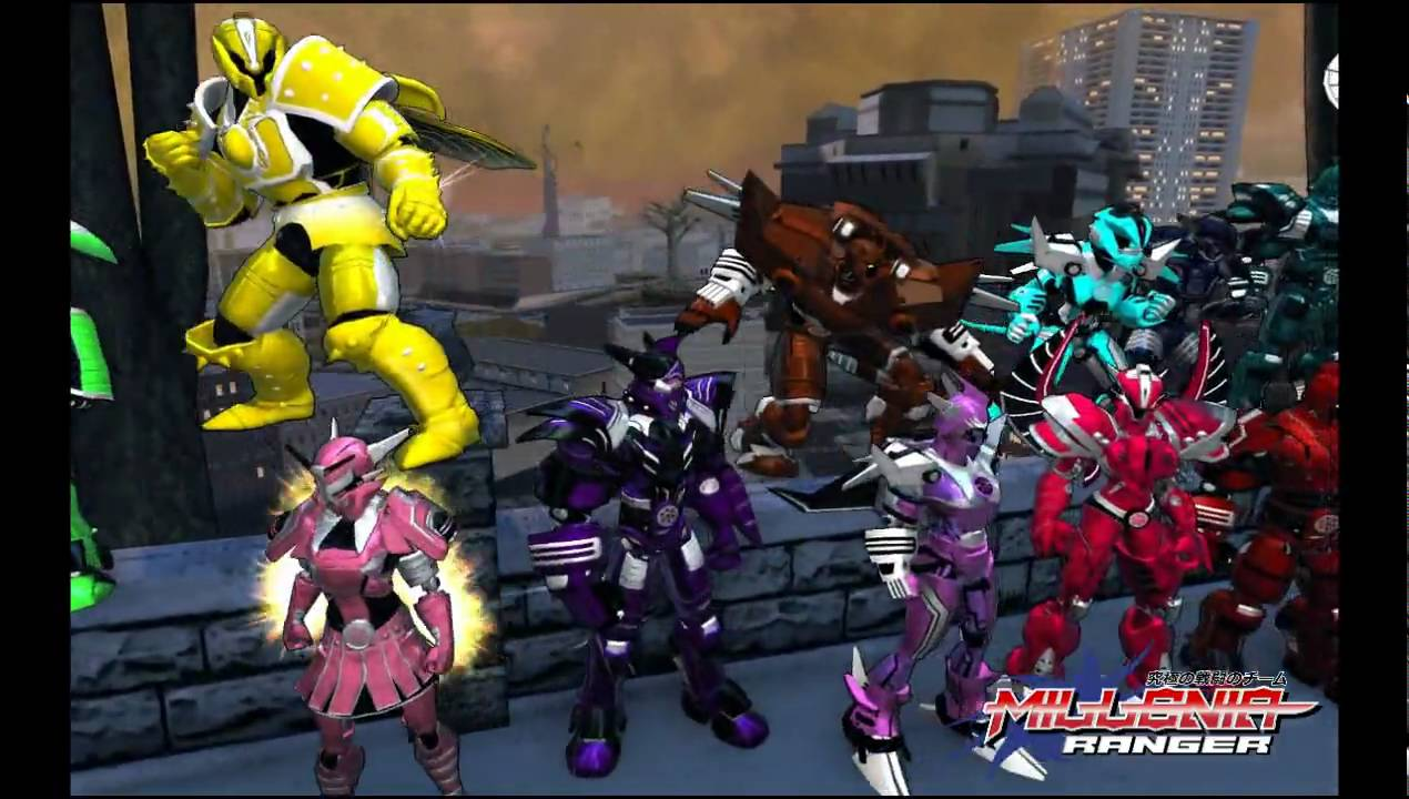 Champions online power rangers