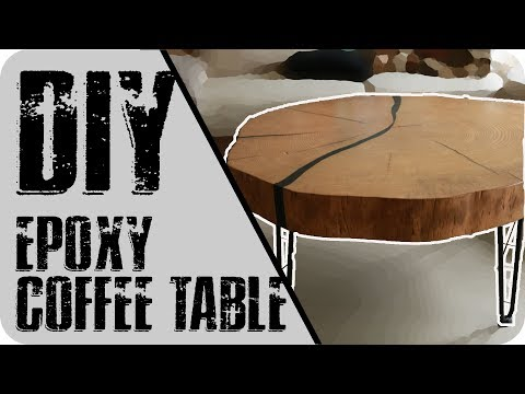 #003 DIY Epoxy Coffee Table