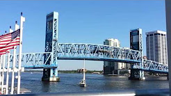 Jacksonville Florida draw bridge closing