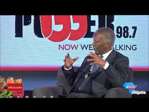 "Mbeki ""White Monopoly Capital is ignorance"""
