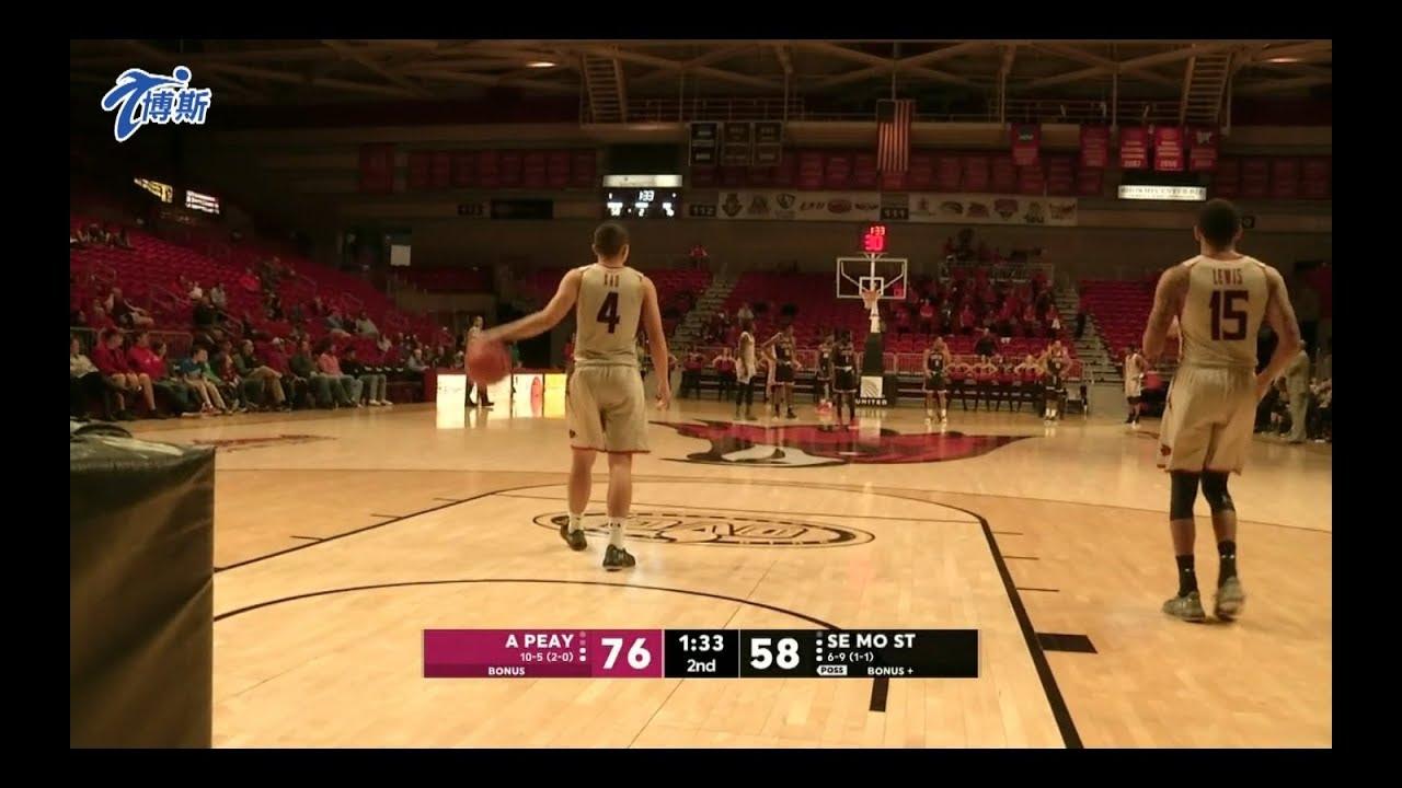 【高國豪出賽】01/11 NCAA美國大學籃球賽 東南密蘇里州大 vs 奧斯汀畢州大 - YouTube