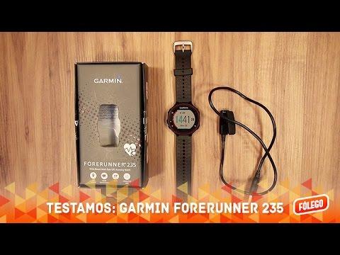 b2a76f55eac Testamos  Garmin Forerunner 235 - YouTube