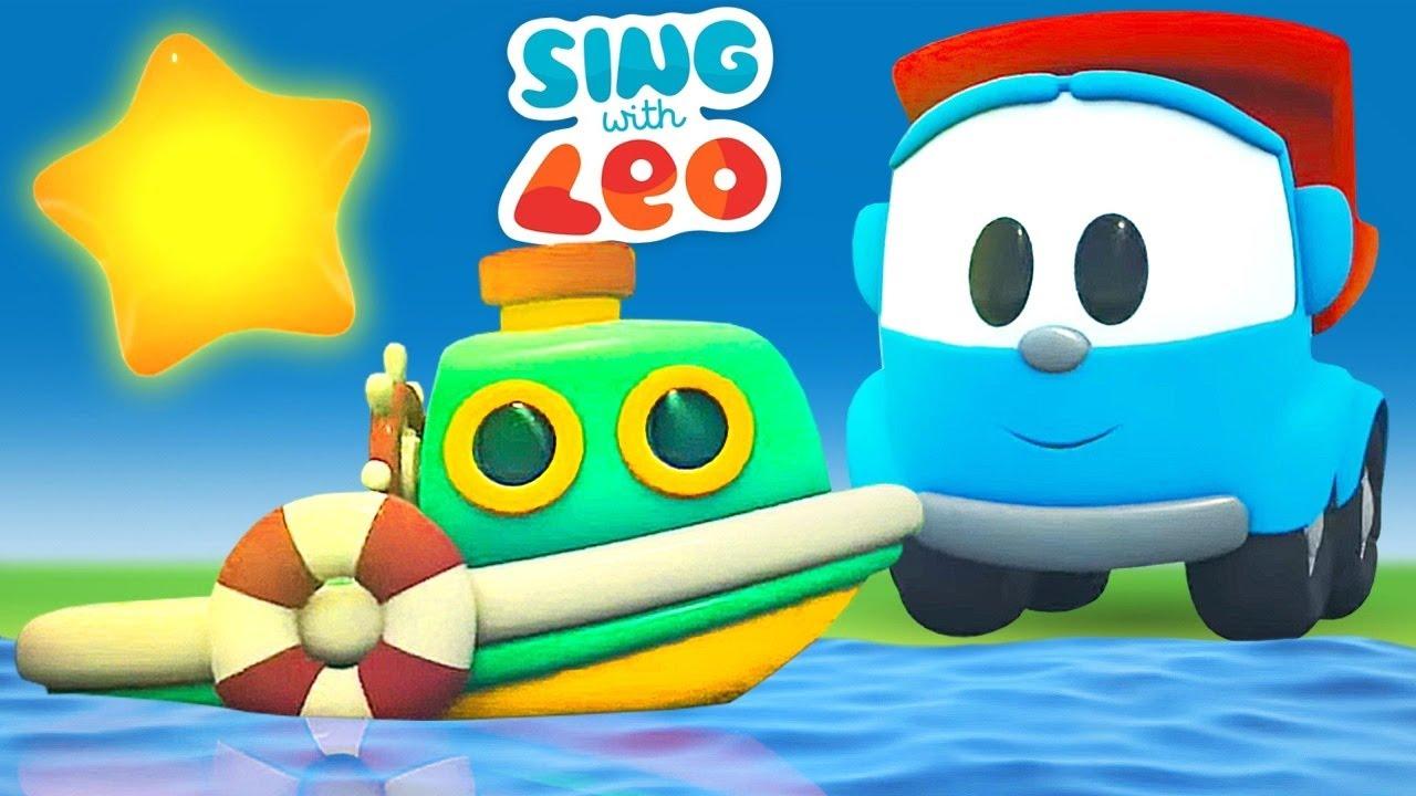 Leo the truck cartoon for kids & Lullabies for babies - @Songs for Kids & Cartoons for kids.