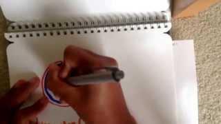 How to draw: Edmonton Oilers Logo