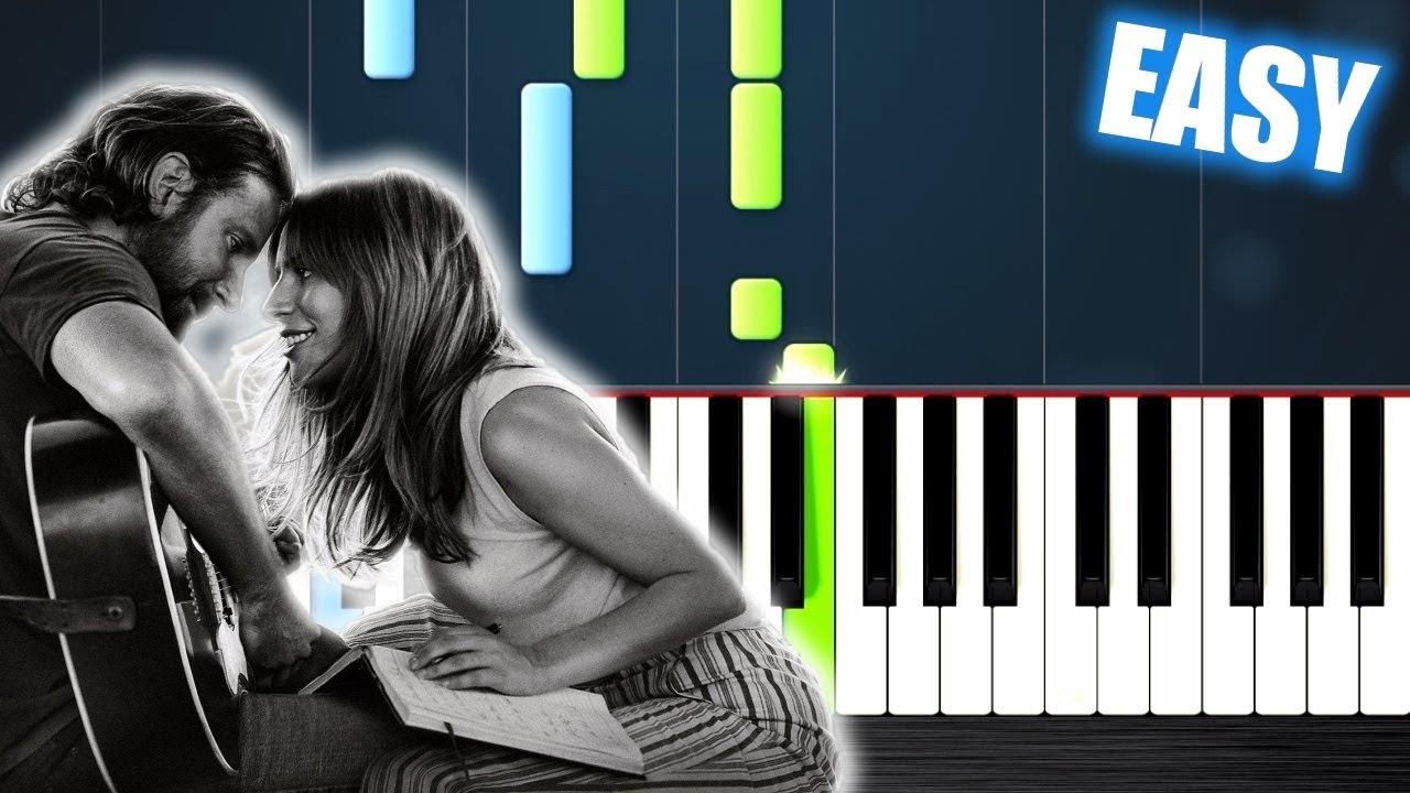 Lady Gaga, Bradley Cooper - Shallow (A Star Is Born) - EASY