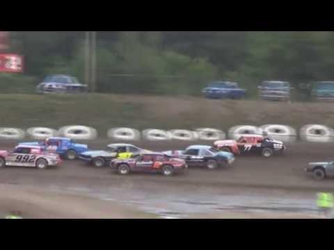 Big Diamond Roadrunners Crazy 8's 7/15/16 Features 1&2 - #77 Andrew Fayash III