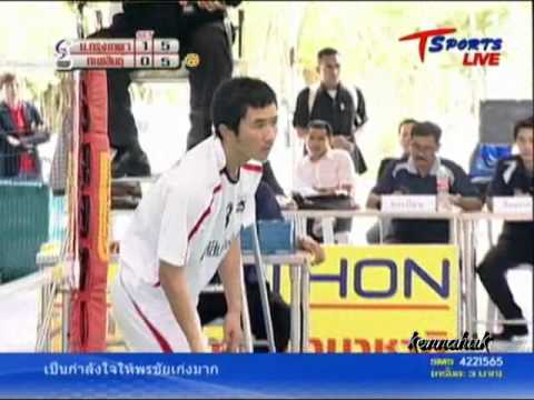 2011 Sepak Takraw Thailand League '' Bangkok Vs Karasin 3 of 10