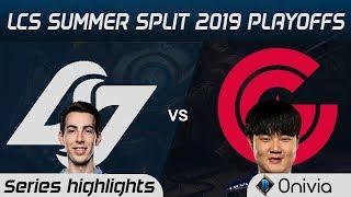 CLG vs CG Highlights All Games LCS Summer 2019 Playoffs Counter Logic Gaming vs Clutch Gaming LCS Hi