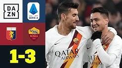 Cengiz Ünder bringt die Roma auf die Siegerstraße: CFC Genua - AS Rom 1:3   Serie A   DAZN
