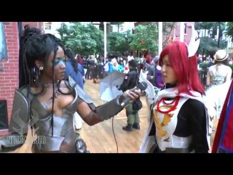 ERZA SCARLET Farewell Armor! Fairy Tail Cosplay at Katsucon 2014