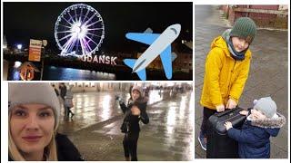 VLOG: Lecimy do Gdańska z Adusią