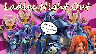 Town Hall 9 Friend Challenge - Ladies Night Out! Clash of Clans