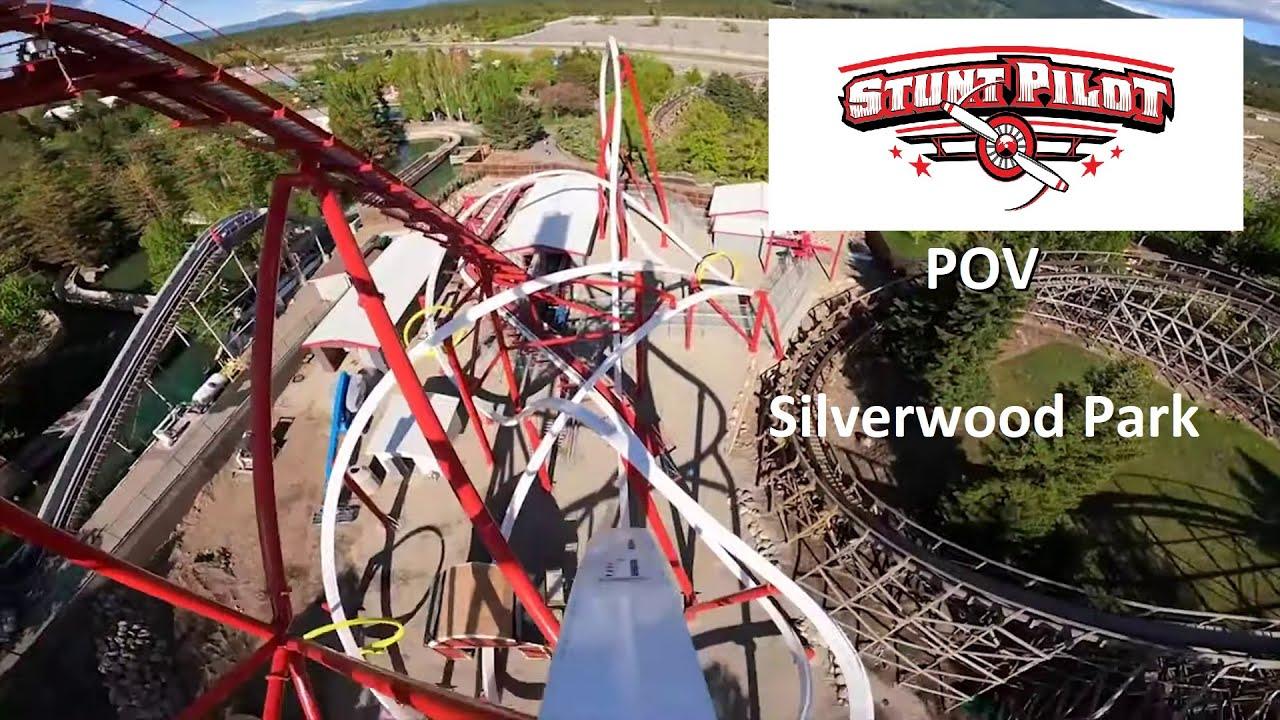 Stunt Pilot Front Row POV At Silverwood Park In Athol, Idaho