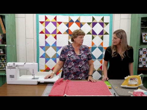 Missouri Star Quilt Company Live- Easy Sew Curtains & Faux Pleated Pillow with Jenny & Misty