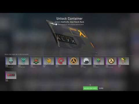 Opening The New Half-Life Patch Packs On CS:GO(15!)
