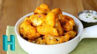 How to Make Buffalo Cauliflower Bites | Hilah Cooking