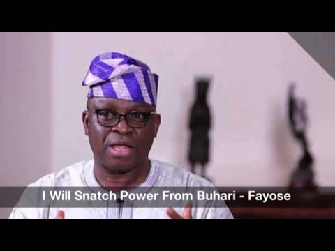 I Will Snatch Power From Buhari - Fayose: Nigeria News Daily (17-06-2017)