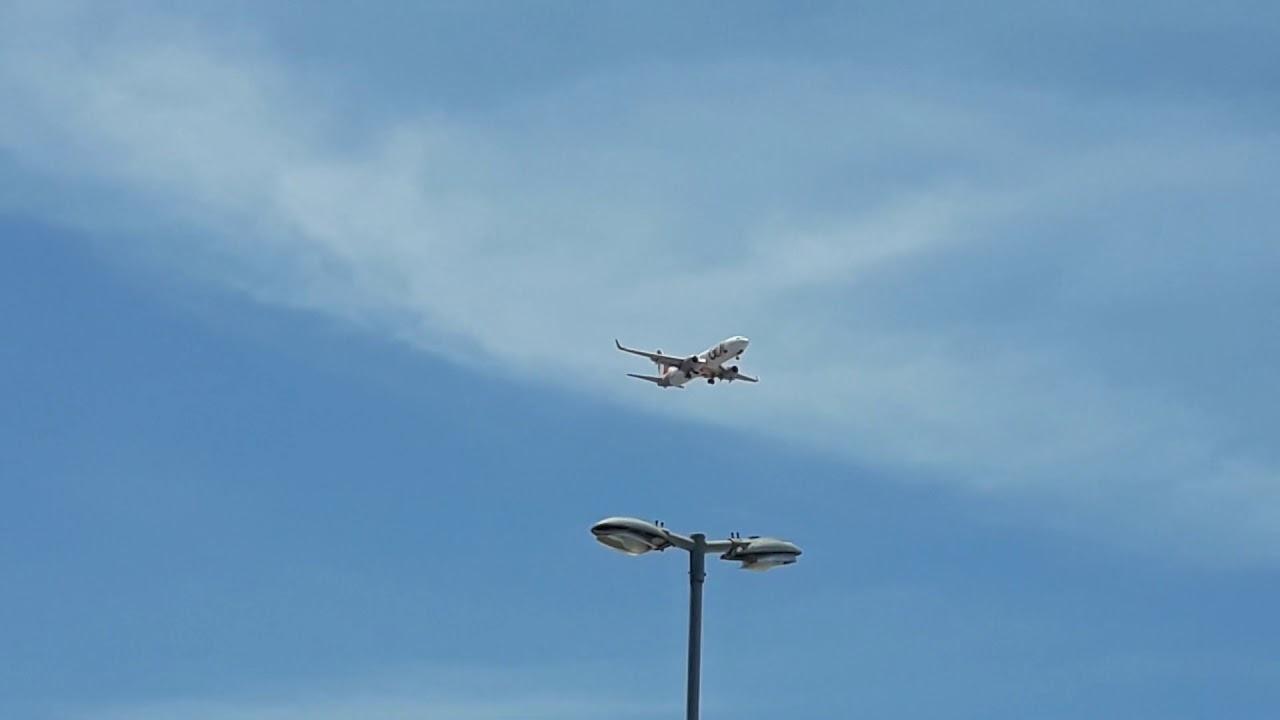 Resultado de imagem para [SBFZ Spotting]Boeing 737 da Gol vindo de Brasília na final para pousar em Fortaleza